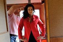 """Olga Valtrová je milá byznysmanka se smutnýma očima,"" říká scénárista Michal Israel Volf."