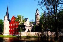 Vodní hrad Stein: vězení saského kurfiřta Bedřicha II.