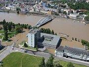Labe v Ústí nad Labem. Ilustrační foto.