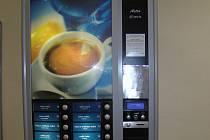 Automat na kávu. Ilustrační foto.