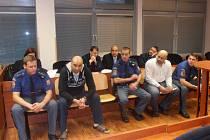 Marcel Cichý a jeho kumpáni si vyslechli rozsudek.
