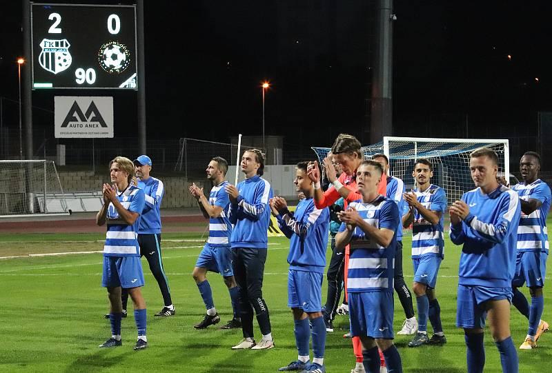 FK Ústí - Varnsdorf, FNL 2021/2022. Fotbalisté Ústí nad Labem ilustrační