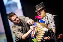 V neděli se můžete ve Vrchlického sadech těšit na divadelní představení pražského Studia Damúza.