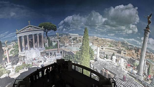 V Panometru je k vidění výstava o Římu.