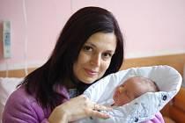 Adam Korbel, se narodil v ústecké porodnici dne7.5.2013 (14.55) mamince Simoně Korbelové, měřil 49 cm, vážil 3,21 kg.