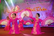 Lunární nový rok oslavily stovky Vietnamců v kulturním domě tradičním způsobem.