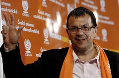 Jaroslav Foldyna po volebním vítězství