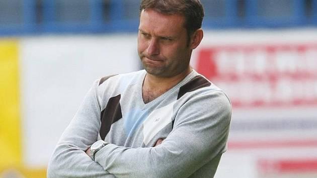 Trenér ústeckých fotbalistů Svatopluk Habanec.