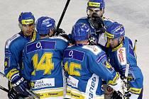 Ústeckým hokejistům se daří. Po cenném skalpu Litvínova si dokázali poradit i s Chomutovem a zvítězili 5:3.