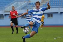 Fotbalové utkání mezi Ústím a Baníkem Sokolov
