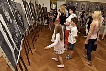 Výtvarný obor ZUŠ Evy Randové se chlubí v muzeu v Ústí