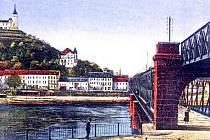 Zaniklé Ústí: Starý železniční most