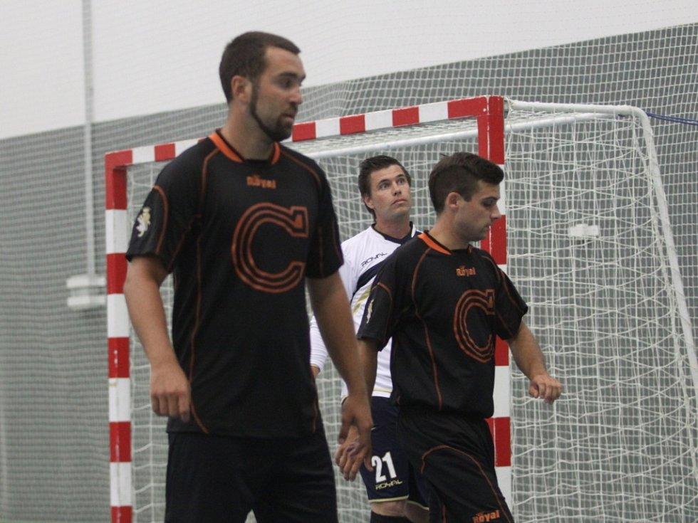 Z mezinárodního futsalového utkání Combix - Petrohrad.