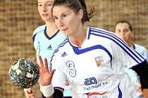 Házenkářka ústeckého Spartaku Pavlína Janečková je ve druhé lize noční můrou obran a brankářek.