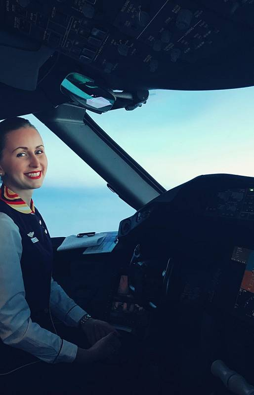 Letuška Irena Eichlerová.