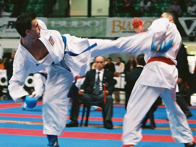 Tomáš Pavlíček (vlevo) má konečně zlato