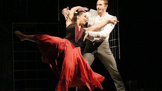 Generální zkouška baletu Carmen