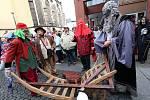 Centrem Ústí nad Labem prošel v sobotu již tradiční masopustní průvod, který pořádá město.
