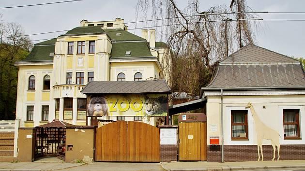 Dolní pokladna Zoologické zahrady Ústí nad Labem