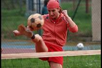 Ligový nohejbal hraje z Ústecka pouze jedna jediná dívčina, Jitka Vavřincová