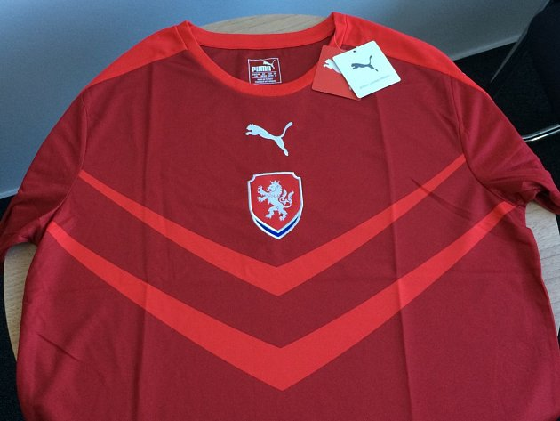 Dres fotbalové reprezentace České republiky - Puma.