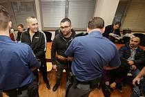 Obžalovaní z distribuce drog u soudu v Ústí nad Labem