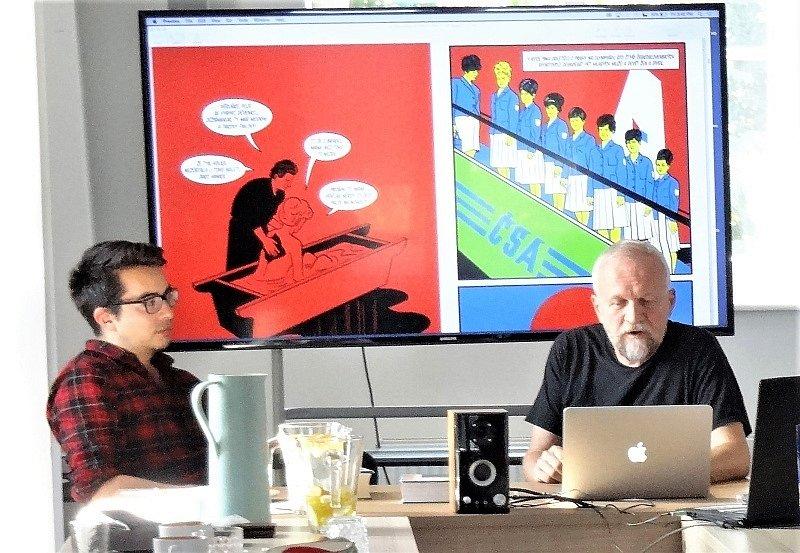 Česko-německý týden s komiksem na FF UJEP