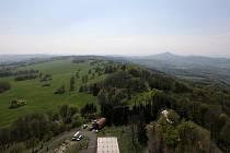 Výhled z Bukové hory.