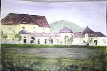 Klášter Magdalenitek v Zahražanech, zbořen 1968.