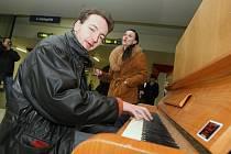 Od konce února si na hlavním vlakovém nádraží v Ústí nad Labem může zahrát na piáno každý. Kvůli velkému zájmu a častému hraní klavír potřebuje vyměnit tři struny a opravit pedál.