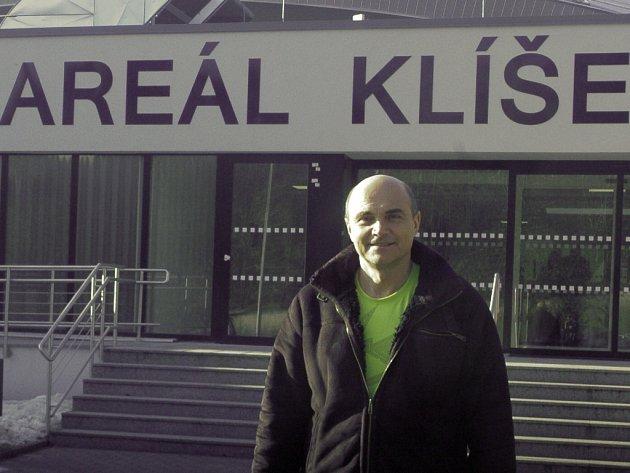 Vedoucí projektu plaveckého areálu Klíše Radek Zeman.