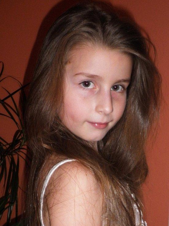 42. ZUZANKA SOUKALOVÁ, 8 let, Teplice.
