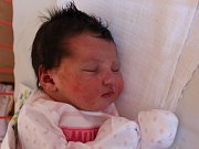 Klaudie Jarošová se narodila v ústecké porodnici 29.8.2016 (13.42) Lucii Jarošové. Měřila 52 cm, vážila 4,32 kg.
