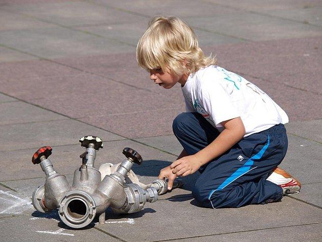Na Lidickém náměstí byly soutěže pro mateřské školky