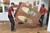 Výstava 700x Střekov v ústeckém muzeu