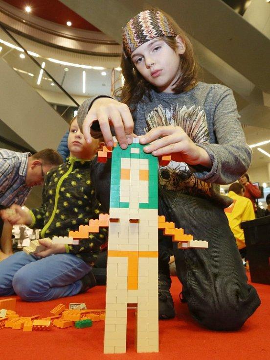 Lego den OC Forum Ústí nad Labem.