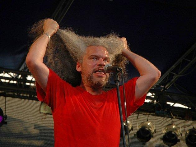 Petr Váša z Brna pobavil publikum festivalu Litoměřický kořen.
