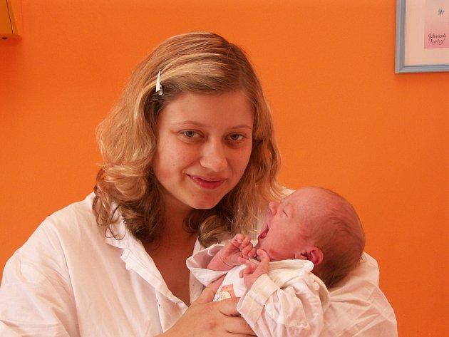 Veronika Trousilová s dcerou Natálií (29.5.2008)