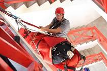 Jen v uplynulém roce lezecká jednotka HZS Ústí nad Labem zasahovala v šesti případech.