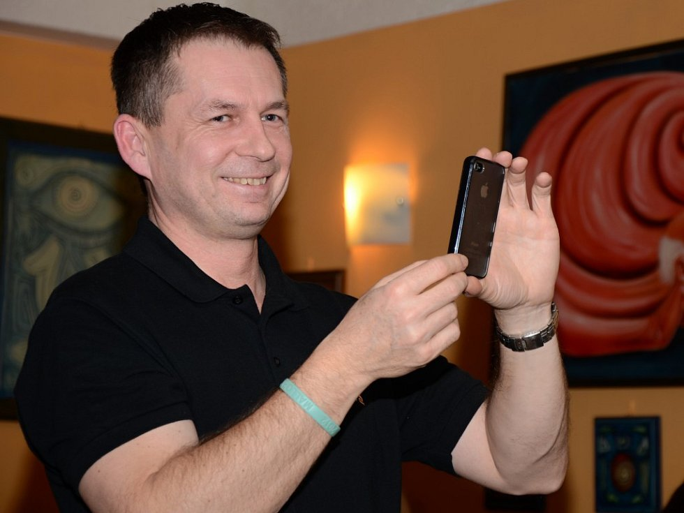 Petr Lüftner zavítal do Habrovic.
