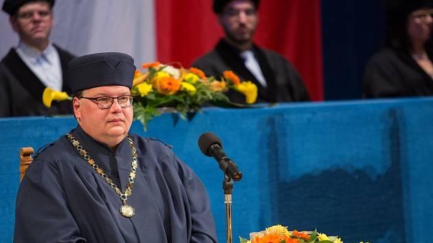 PRODĚKAN PRO STUDIUM ústecké Pedagogické fakulty Jiří Škoda.
