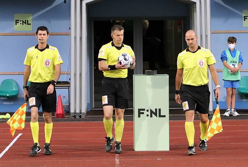 FK Ústí - Varnsdorf, FNL 2021/2022. Fotbal ilustrační. FORTUNA:NÁRODNÍ LIGA ilustrační
