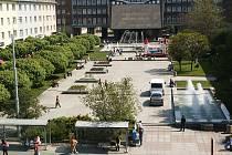Lidické náměstí v Ústí nad Labem