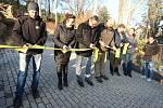 V zoologické zahradě v Ústí nad Labem otevřeli v neděli slavnostně nový pavilon pro tučňáky.
