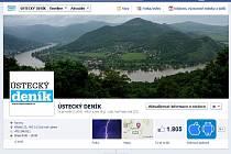 Stránku na Facebooku má i Ústecký deník.