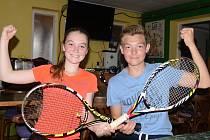 Mladé tenisty TJ Svah Všebořice čeká play off