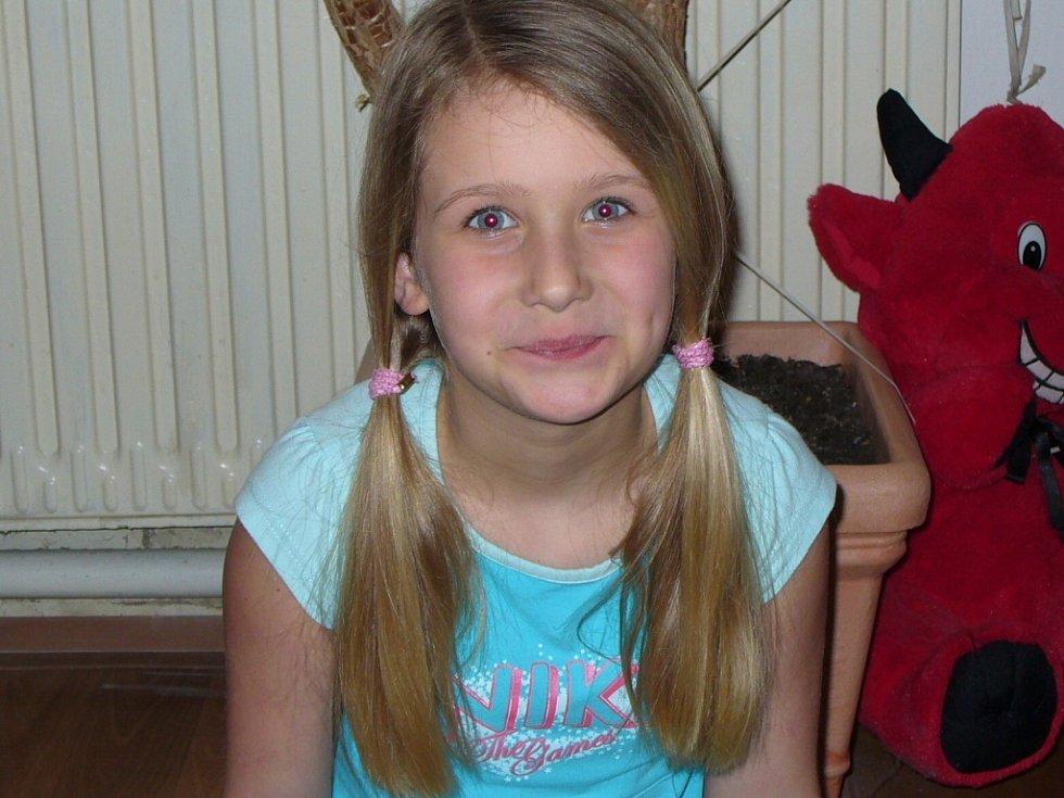 4. BARUNKA BLÁHOVÁ, 10 let, Lovosice.