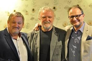 Jiří Werich Petrášek, Karel Štolba a Pavel Mészáros (zleva).