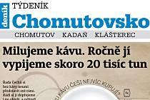 Vychází nový Týdeník Chomutovsko
