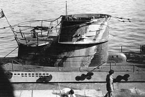 U-375 Aussig. Ponorka, kterou mělo pod patronací Ústí nad Labem.